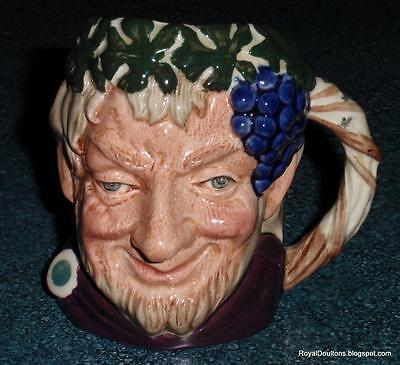*SIGNED* Bacchus The God Of Wine Royal Doulton Character Toby Jug D6505 Dionysus