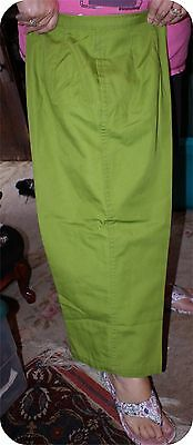 Vintage MID CENTURY  60s  GREEN PEDDLE PUSHERS WHITE STAG 26 WAIST
