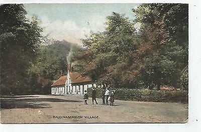 irish postcard ireland louth ballynascanlon village