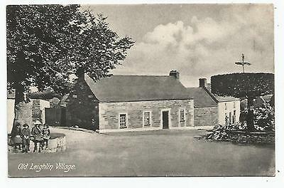 irish postcard ireland carlow old leighlin village