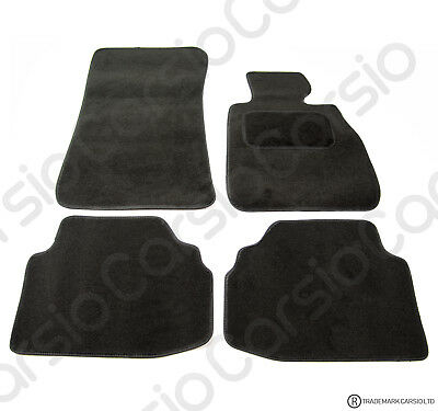 BMW 3 Series E92 Coupe 2006 to 2011 Tailored Black Car Floor Mats Carpets 4pcSet
