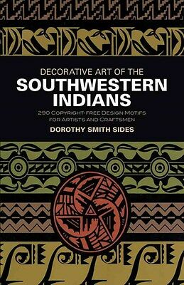 Decorative Art of the Southwestern Indians 9780486201399 by D. S. Sides, NEW