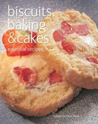 Biscuits, Baking & Cakes: Essential Recipes 9780857750013, Paperback, BRAND NEW