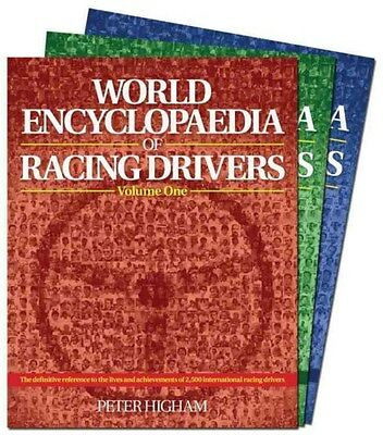 World Encyclopaedia of Racing Drivers 9781910505076 by Peter Higham, Hardback