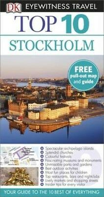 DK Eyewitness Top 10 Travel Guide: Stockholm 9781409368694, 2015, Paperback, NEW