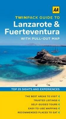 AA Twinpack Guide to Lanzarote & Fuerteventura by AA Publishing (Paperback,...