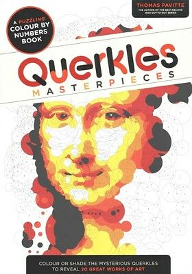 Querkles Masterpieces: A Puzzling Colour by Numbers Book 9781781572412, Pavitte
