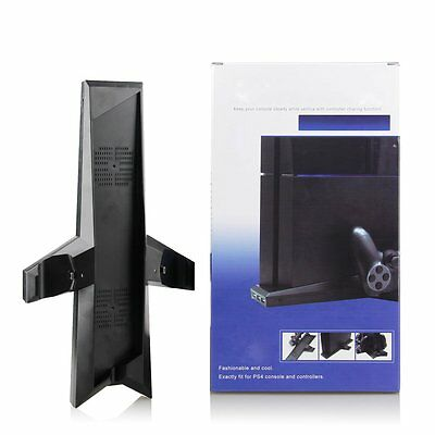 7 in1 Console Stand Dock+Cooling Fan+Controller Charger for Playstation 4 PS4