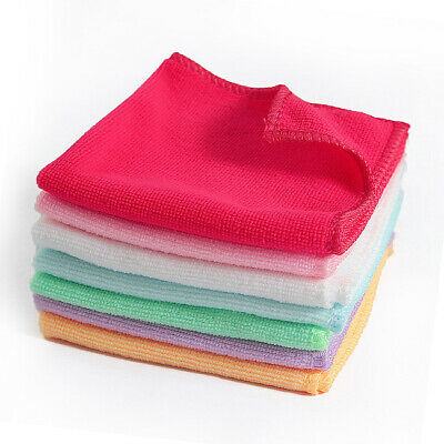 "3PCS Absorbent Wash Cloth Car Auto Care Microfiber Cleaning Towels Size 9""*9"""