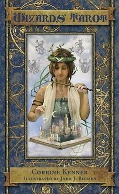 Wizards Tarot Deck 9780738739380 by Corrine Kenner, Cards, BRAND NEW FREE P&H