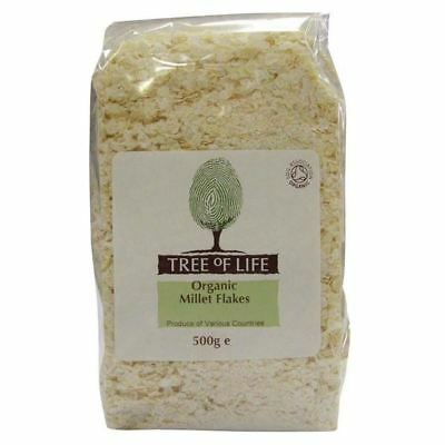 Tree of Life Organic Millet Flakes 500g