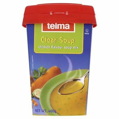 Telma Chicken Flavour Clear Soup Mix Tub 400g