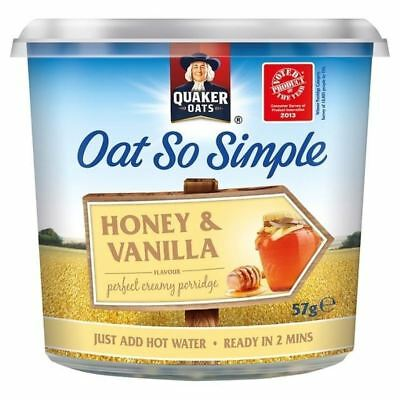 Quaker Express Pot Honey & Vanilla 57g