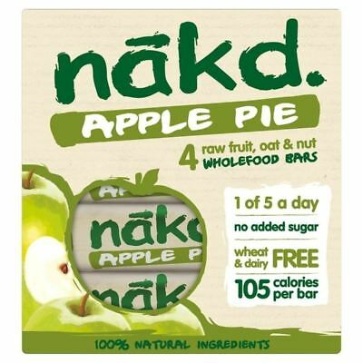 Nakd Wheat & Dairy Free Apple Pie Multipack 4 x 30g