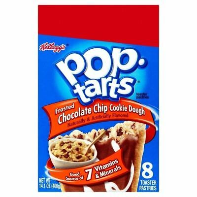 Kellogg's Pop Tarts Frosted Chocolate Chip Cookie Dough 400g