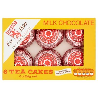 Tunnock's Tea Cakes Milk Chocolate 6 x 24g