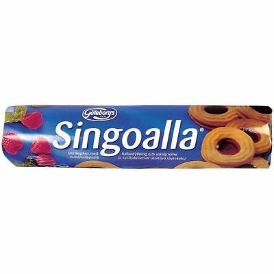 Goteborgs Kex Singoalla -Biscuits with Raspberry Filling 190g
