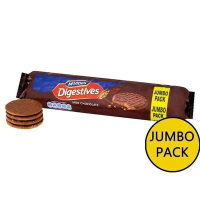 McVitie's Milk Chocolate Digestives Jumbo Pack 500g