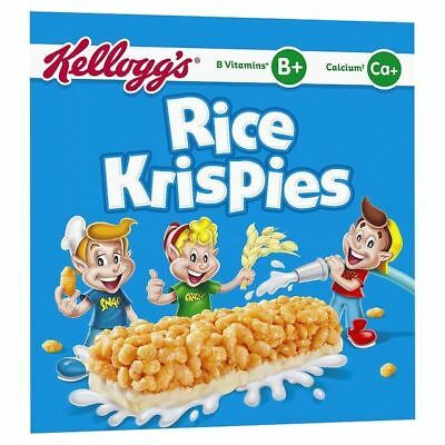 Kellogg's Rice Krispies Cereal Milk Bars 6 x 20g