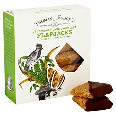 Fudge's Dark Chocolate Flapjacks 8 per pack