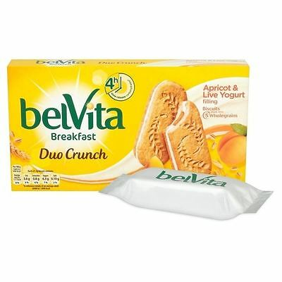 Belvita Breakfast Apricot Yogurt Duo 5 x 50g