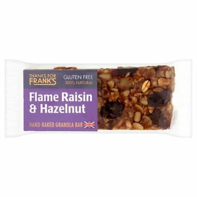 Thanks for Franks Flame Raisin & Hazelnut Gluten Free Bar 55g