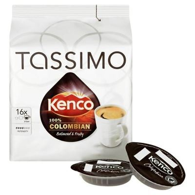 Tassimo Kenco 100% Colombian 16 per pack