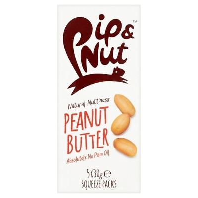 Pip & Nut Peanut Butter Squeeze Pack Multipack 5 x 30g