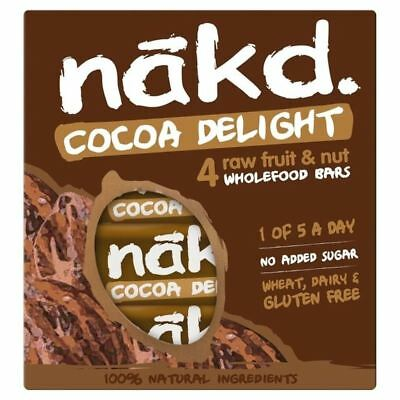 Nakd Free From Cocoa Delight Multipack 4 x 35g
