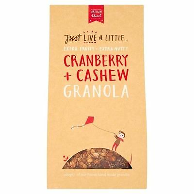 Just Live a Little Cranberry Cashew Granola 400g