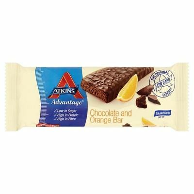 Atkins Advantage Chocolate & Orange Bar 60g