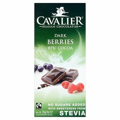 Cavalier Dark chocolate with Berrie Bar 85g
