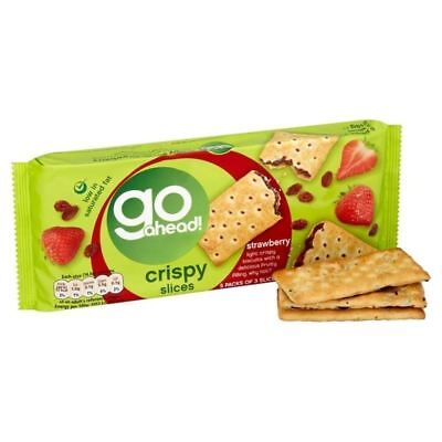 Go Ahead Crispy Fruit Slice Strawberry 5 per pack