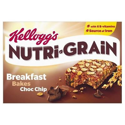 Kellogg's Nutri Grain Elevenses Chocolate Chip Bakes 6 x 45g