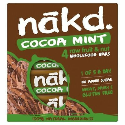Nakd Free From Cocoa Mint Multipack 4 x 35g