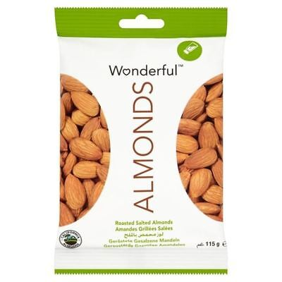 Wonderful Almonds Roasted & Salted 115g