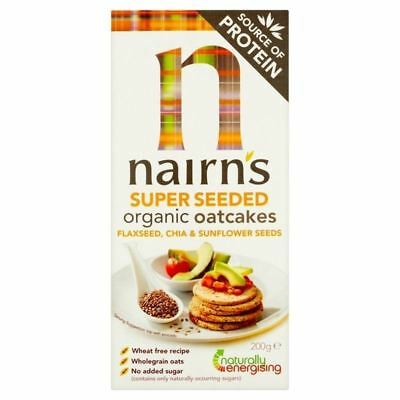 Nairns Organic Super Seeded 200g
