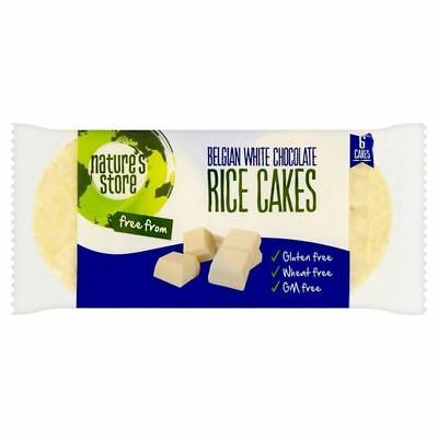 Nature's Store GF White Chocolate Rice Cakes 100g