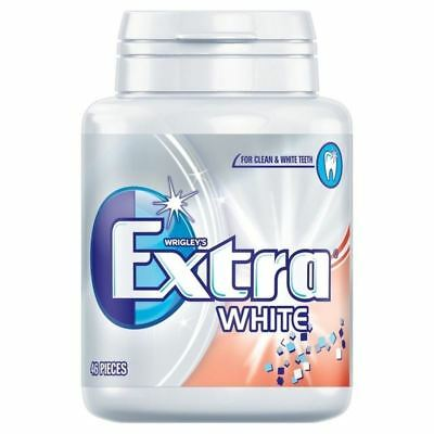 Wrigley Extra White Bottle 46 per pack