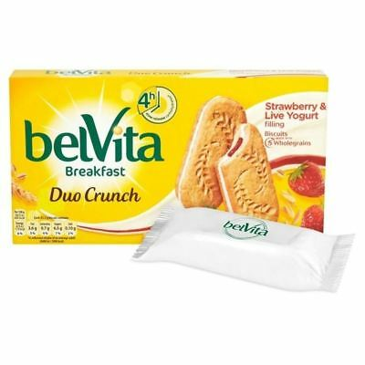 Belvita Breakfast Strawberry Yogurt Duo 5 x 50g
