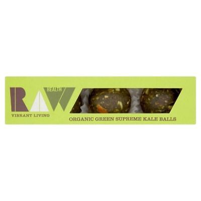 Raw Health Organic Green Supreme Kale Balls 60g