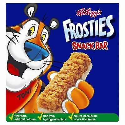 Kellogg's Frosties Cereal Milk Bars 6 x 27g