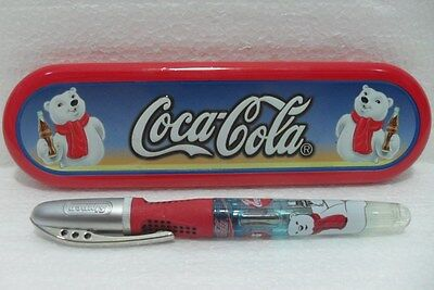 Coca-Cola - PENNA CERAMIC ROLLER BALL PEN - SCATOLA di LATTA