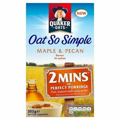 Quaker Oat So Simple Maple & Pecan 10 x 35g