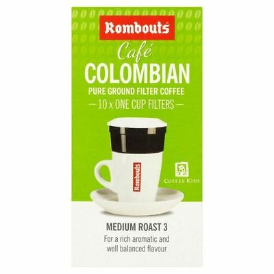 Rombouts Colombian One Cup Filters 10 per pack