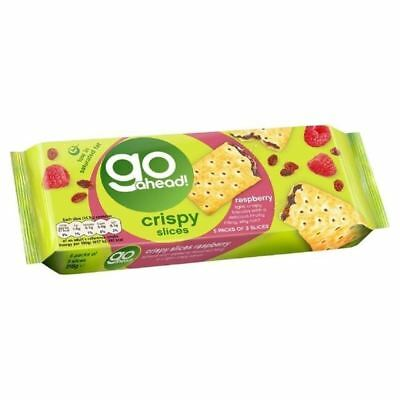 Go Ahead Crispy Fruit Slice Raspberry 5 per pack
