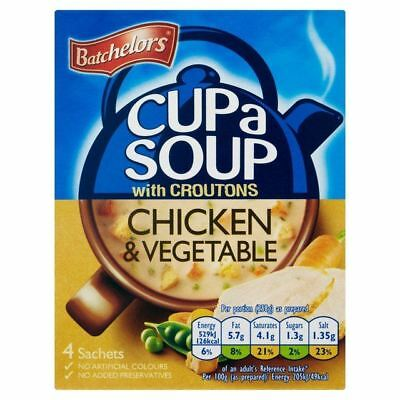 Batchelors Cup A Soup Chicken & Vegetable 4 x 27.5g