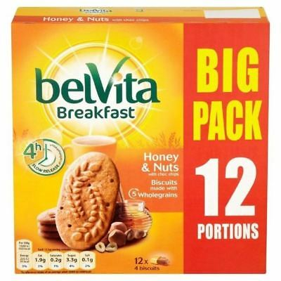 Belvita Honey & Nuts Big Pack 12 x 50g