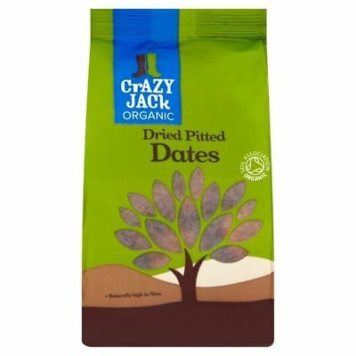 Crazy Jack Organic Pitted Dried Dates 250g