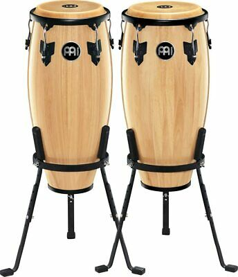 Meinl HC555NT Headliner Percussion Conga Drum Set Natural With Stands
